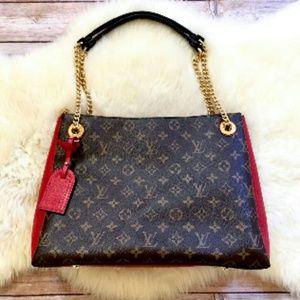 Louis Vuitton Surene MM Monogram/Cherry Bag